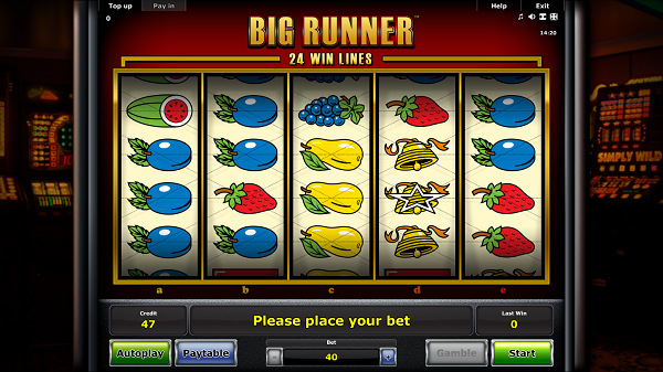 Play Big Runner slot