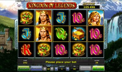 Kingdom of Legends slot machine game