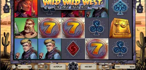 NetEnt Wild Wild West slot machine