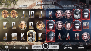 Planet of The Apes slots