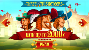 Three Musketeers slots onlin