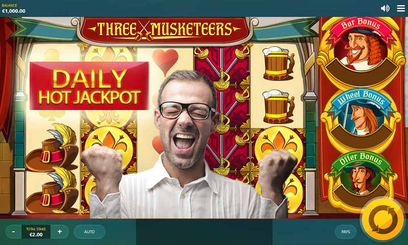 Three Musketeers Slot Machine Online ᐈ Red Tiger Gaming™ Casino Slots