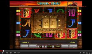 Book of Ra big win video