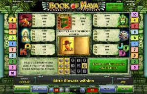 Book of Maya slot machine