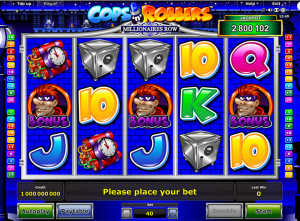 Cops and Robbers Millionaires Row slot