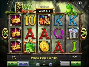 Frogs Fairy Tale slot machine