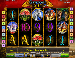 Gryphons Gold Deluxe slot