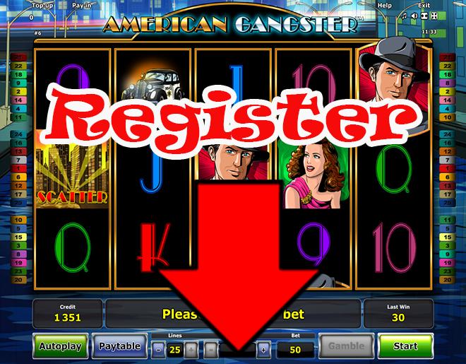 American Gengster slot machine