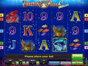 Dolpin's Pearl Deluxe slot