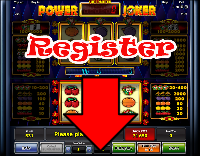 Power Joker slot machine