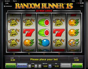 Random Runner 15 slot