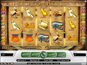 Secret of Horus slot machine