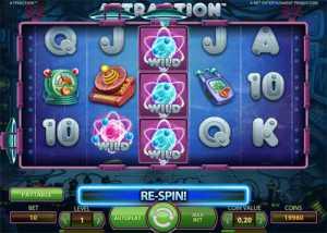 Attraction slot machine