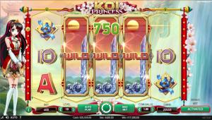 Koi Princess slot machine