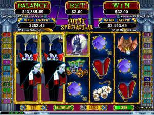 Count spectacular slot machine