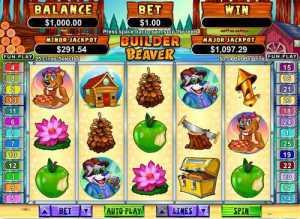 Builder Beaver slot machine game