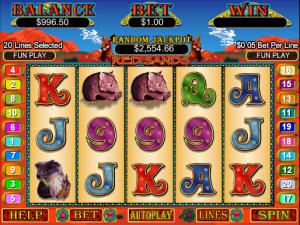 Red Sands slot machine