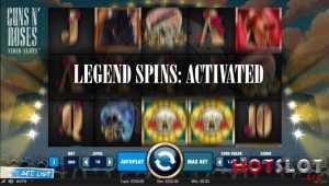 Legend spins