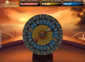 Mega Fortune Dreams jackpot game