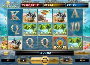 Mega Fortune Dreams free spin