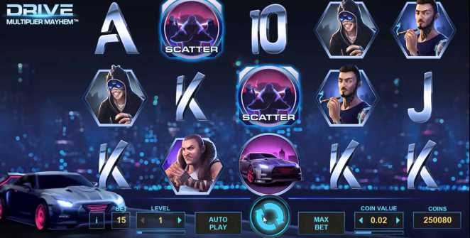 Drive: Multiplier Mayher slot