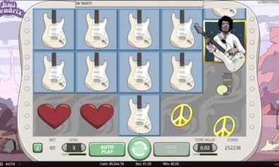 Jimmy Hendrix online slot machine