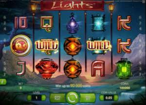 Lights slot machine by NetEnt