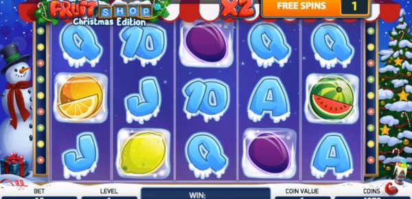 Fruit Ship Christmas Edition slot machine