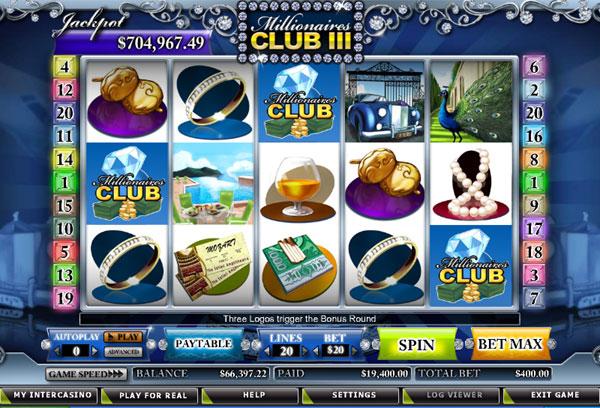 Millionaires Club III slot