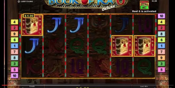 Big win on Book of Ra Deluxe 6 slot machine