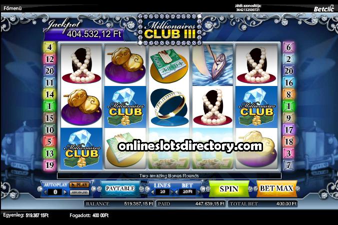 Jackpot won