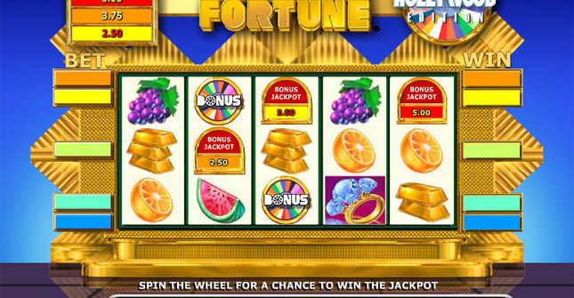 High limit Wheel of Fortune slot online
