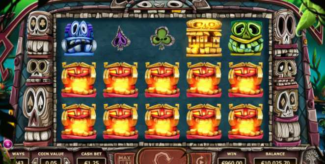 Big Box slot machine by Yggdrasil