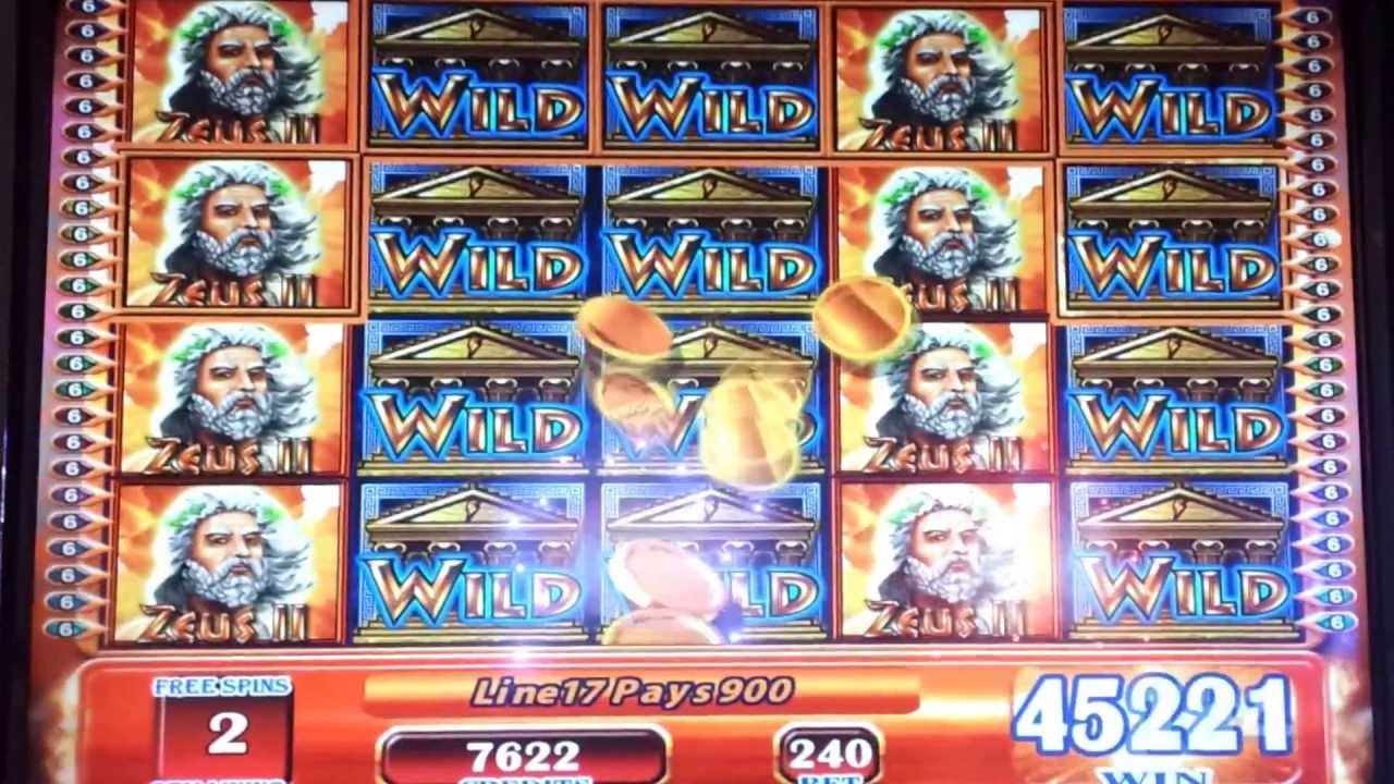 Play First Zeus Slot Machine Online And Rule The World