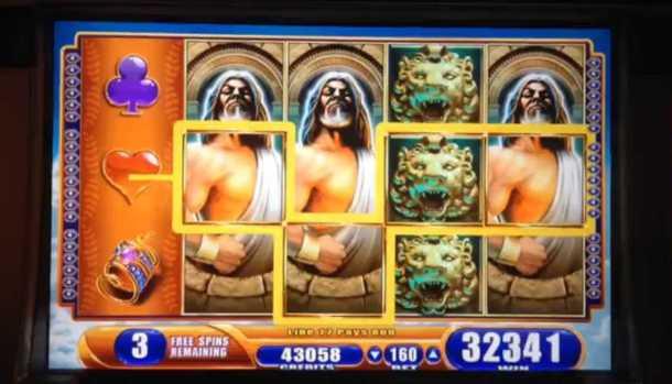 WMS Kronos slot machine tips
