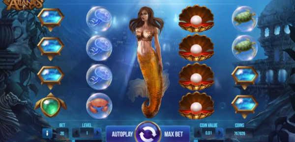 Secrets of Atlantis slot machine online
