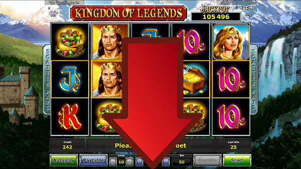 Play Kingdom of Legends slot