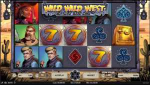NetEnt Wild Wild West slot machine