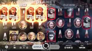 Planet of The Apes Free Spins bonuses