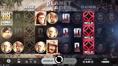 Planet of The Apes Stacked Wild Features